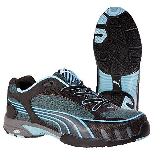 Puma Safety Fuse Motion Blue Wns Low S1 Hro, Puma, Espadrillas Basse Donna Nero (schwarz/blau 256)