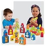 Mega Bloks 887961565249 Basics Build and Match Animals