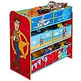 Toy Story 4 Étagère de Rangement pour Jouets avec 6 caisses pour Enfants, 30x63,5x60