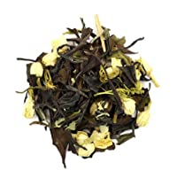 Jasmine Blossom White Tea - 4oz - Loose Leaf Chinese King Peony with Natural Flower Blossoms - Nature's Tea Leaf