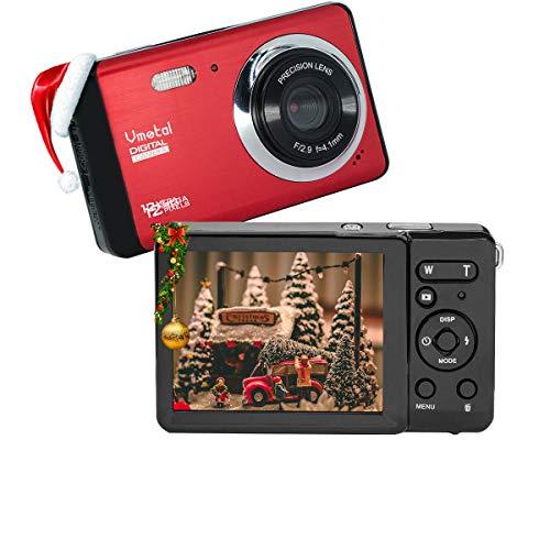 Cámara Digital 80X2 / Zoom Digital 8X / 12 MP / 720P HD/Pantalla LCD TFT de 3' Cámara Simple para niños/Adolescentes / Principiantes/Los Ancianos