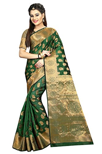 Hinayat Fashion Green mango Banarasi Saree(2HNT01SRI409_Green_Mango)