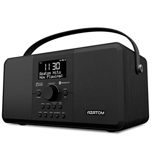 multiplex dab digital fm radio bluetooth battery alarm clock azatom multiplex d1 bluetooth. Black Bedroom Furniture Sets. Home Design Ideas