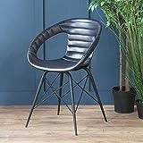 Wo Saints Go der Warhol Stuhl   Esszimmerstuhl Stühle   Leder Stuhl   Stühle, Leder   Retro Stuhl   Esszimmer Stühle   60's Stuhl   Andy Warhol   Bürostuhl