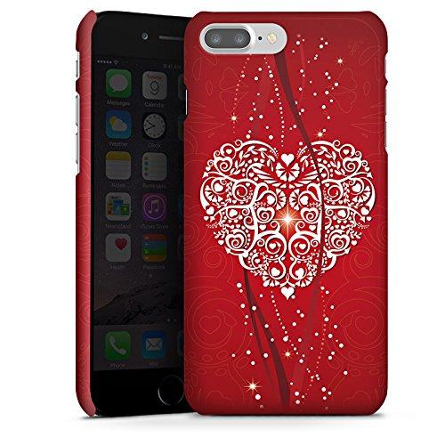 Apple IPhone X Silikon Hulle Case Schutzhulle Liebe Herz Valentinstag Premium Glanzend