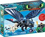 Playmobil 70037 DreamWorks Dragons Sdentato e Hiccup con Baby Dragon, dai 4 Anni