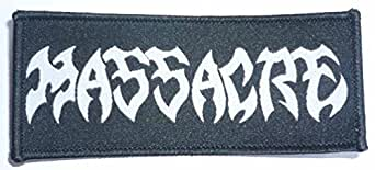Massacre - Logo Ecusson Patch