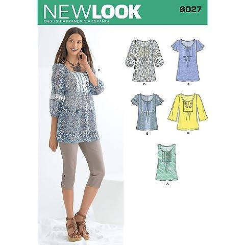New Look 6027 - Cartamodello per maglie