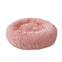 Soft Plush Round Pet Bed Cat Soft Bed Cat Bed for Cats Small Dogs
