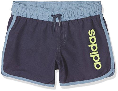 adidas Jungen Split SL Badeshorts, Trace Blue/Raw Grey, 140