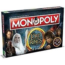 Winning Moves Gioco da Tavolo-Monopoly Lord of The Rings Edizione da Collezione Versione Italiana, 02394