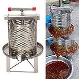 Esplic Pressa per Cera d'api con estrattore di Miele di Grandi Dimensioni, Macchina per Utensili per Apicoltura con pressa a Cera per Il Miele, la Frutta, la disidratazione della Pressione dell'olio