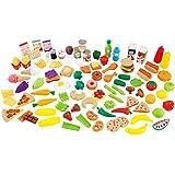 KidKraft Deluxe Tasty Treat Pretend Play Food Set, 115 pieces