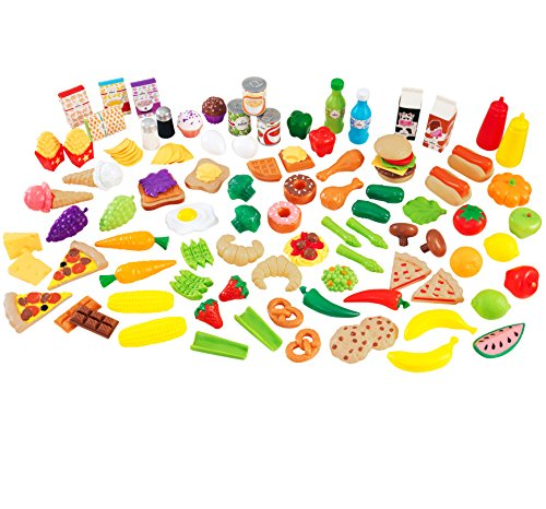 kidkraft-juego-de-piezas-de-comida-deluxe-115-piezas-63330