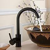 PENG Die Moderne Küche Badezimmer Voll Verkupferung Grosse Eckbadewanne, Heißes Und Kaltes Wasser Mixer Einloch Waschbecken Tippen