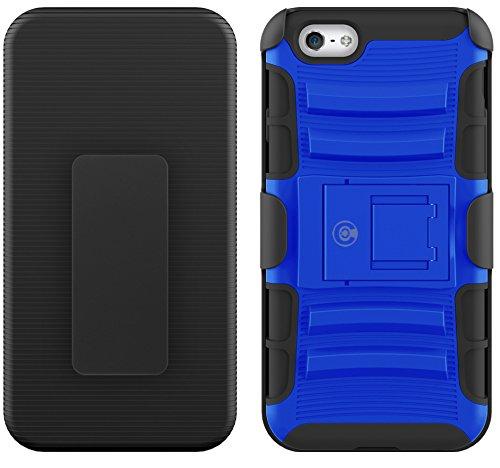 Kabel und Fall iPhone 6S Fall, [Klinge Series]–Heavy Duty Schutz vor Stürzen und–Auch Kompatibel mit Apple iPhone 6[Blau]