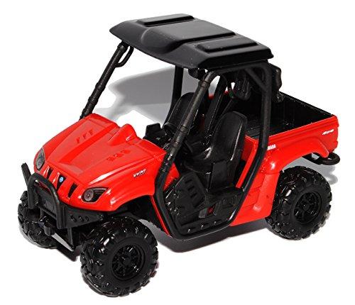 Maisto Yamaha Rhino 700 4x4 ATV Rot 1/32 Modell Motorrad Modell Auto (4 4 Atv X)