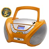 Lauson CP447 CD-Player, Tragbares Stereo Radio, Orange - Best Reviews Guide