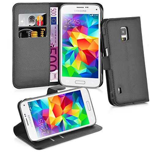 Cadorabo Hülle für Samsung Galaxy S5 Active in Phantom Schwarz (Phone Cases Galaxy S5 Active)