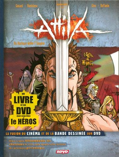 Attila un Barbare Defie l'Empire + 1 DVD par Godard Christian