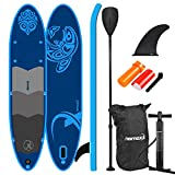 Nemaxx PB330 Sup Stand up Paddle Board - aufblasbare Sup-Boards - mit Transportrucksack