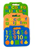 Futurez Key Combo Of 69 Pcs Washable, Floating And Colorful Eva Foam Alphabets & Numbers For Kids To Learn Spell, Identify Color & Calculate (Capital & Small Letters With Numbers And Different Shapes) Pre-School And Gift Pack