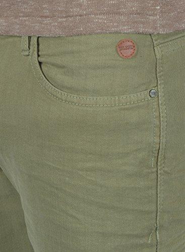 BLEND Paccio Herren Denim Pants Jeanshose aus hochwertigem Baumwollmischung Jungle Green (77196)
