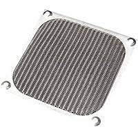 TOOGOO(R) Aluminio filtro de polvo de la guardia 12cm 120mm case fan para pc