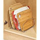 TANISHA'S GALLERY Eoan International Cookware organizer Rack - organizer Holder with 3 Slots for Cookie Trays, Muffin Tins, B