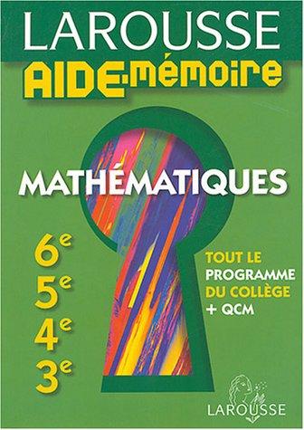 Mathématiques : 6e, 5e, 4e, 3e par Ptolémée
