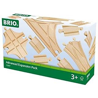 BRIO World Railway Track Expansion Pack - Advanced