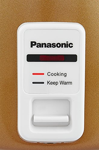 Panasonic SR-W18GH 270-Watt Automatic Cooker Warmer Combo Gift Pack (Gold)