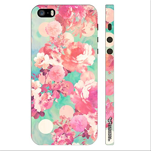 Enthopia Designer Hardshell Case Flowery Summer Back Cover for Apple Iphone 5,5s,SE  available at amazon for Rs.125