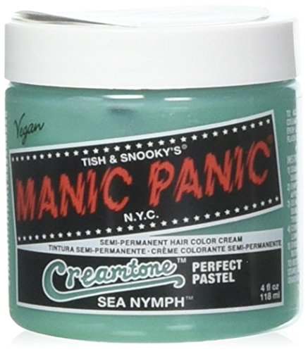 Manic Panic Creamtones Perfekte Pastell Haarfarbe 118ml (Sea Nymph)