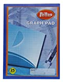 Bittoo Hard Cover Graph Pad Notebook imprimé 25 pages- pack disponible...