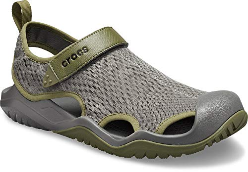 crocs Men's Swiftwater Mesh Deck Sandal - 11 Wasser-schuhe Size Mens