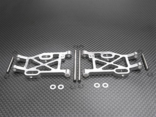 Kyosho Mini Inferno Tuning Teile Aluminium Rear Lower Arm With E-Clips & Pins & Delrin Collars - 1Pr Set - Eclip-pin