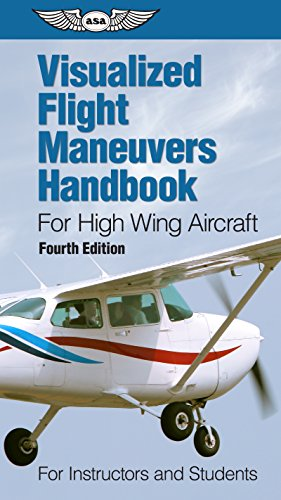 Visualized Flight Maneuvers Handbook for High Wing Aircraft: for Instructors and Students por ASA Test Prep Board