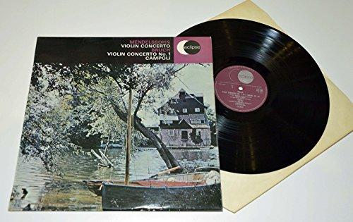 Violin Concertos. Campoli . Decca Eclipse Vinyl. Stereo. ()