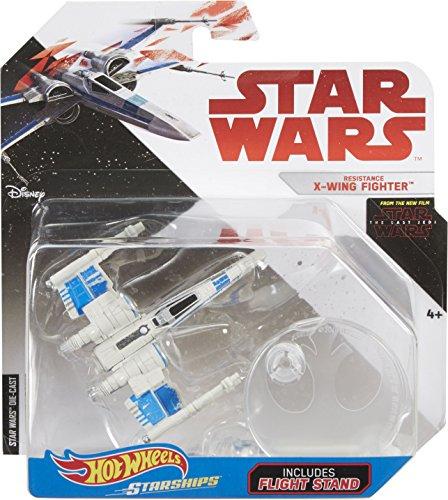 Sw Hot Wheels Star Wars The Last Jedi Resistance X-Wing Fighter