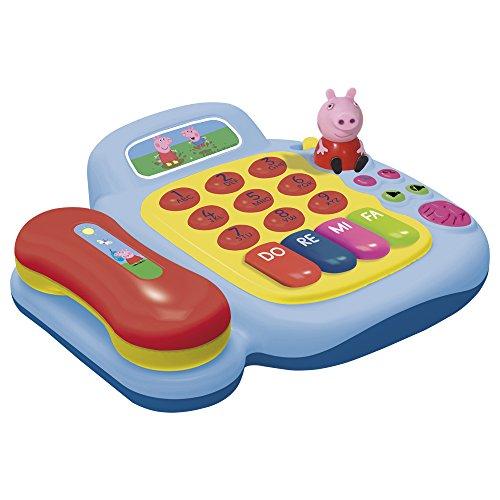 CLAUDIO REIG - TELEFONO Y PIANO CON FIGURA PEPPA PIG (2331)