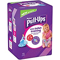 Huggies Pull-Ups Girl's Potty Training Pants, 2-4 Years (56 Pants)