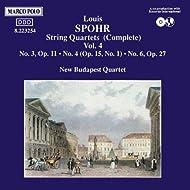 Spohr: String Quartets Nos. 3, 4 And 6