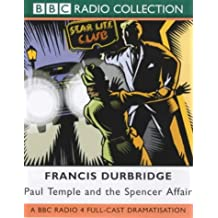 Paul Temple and the Spencer Affair, 2 Cassetten (BBC Radio Collection)