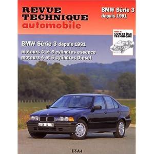 Revue technique automobile, n° 725 : BMW série 3 depuis 1991,  Moteurs 4 et 6 cylindres essence, moteurs 4 et 6 cylindres diesel