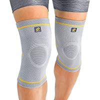 Bracoo elastische Kniebandagen (1 Paar) für Damen & Herren | Kompression Knieschoner für Sport & Alltag | Fulcrum... preisvergleich bei billige-tabletten.eu