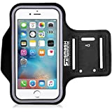 Smash Terminator® Neoprene Sports Gym Jogging Armband for iPod Touch 1st, 2nd, 4th, 5th, 6th & New 7th Generation. 8gb, 16gb, 32gb & 64gb with Key Holder and Reflective Strip