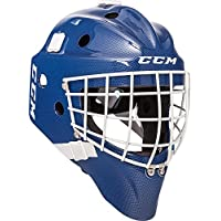 CCM GF7000 Carbon Goalie Maske Senior, Farbe:blau
