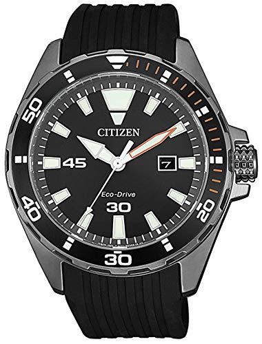 CITIZEN Reloj Analógico para Hombre de Cuarzo con Correa en Sintetico BM7455-11E 1