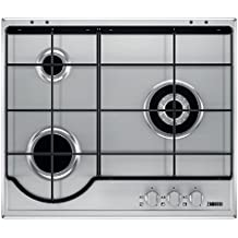 Zanussi ZGG65334XA Integrado Gas Acero inoxidable hobs - Placa (Integrado, Gas hob, Acero inoxidable, Acero inoxidable, propano/butano, Giratorio)